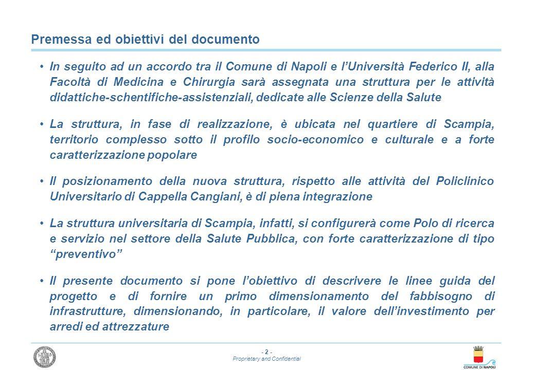 Premessa ed obiettivi del documento