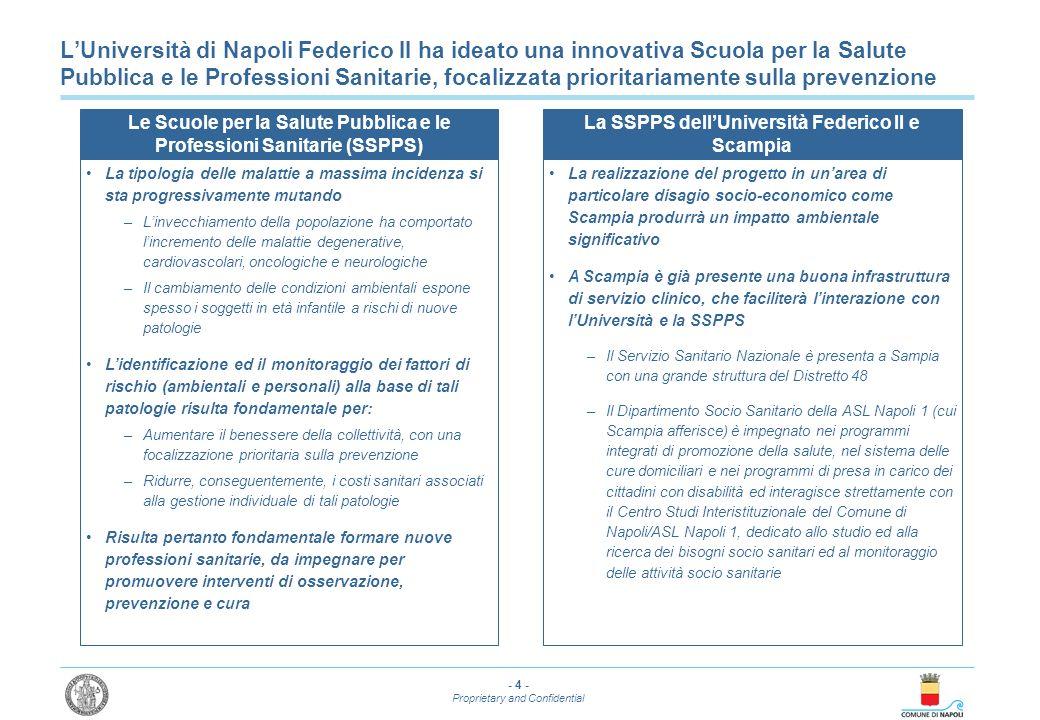 L'Università di Napoli Federico II ha ideato una innovativa Scuola per la Salute Pubblica e le Professioni Sanitarie, focalizzata prioritariamente sulla prevenzione