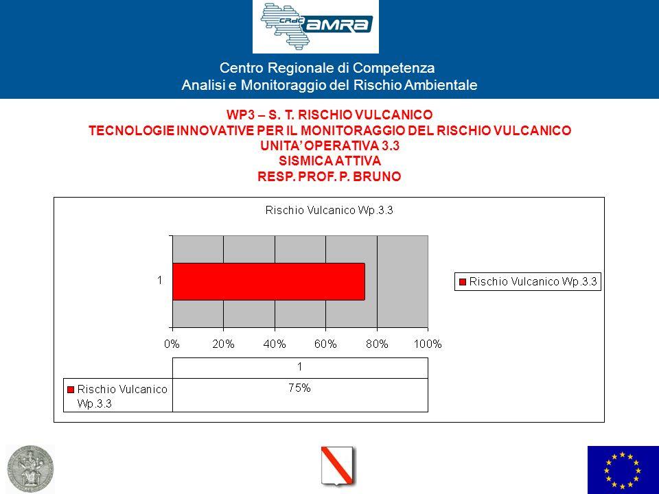 WP3 – S. T. RISCHIO VULCANICO TECNOLOGIE INNOVATIVE PER IL MONITORAGGIO DEL RISCHIO VULCANICO