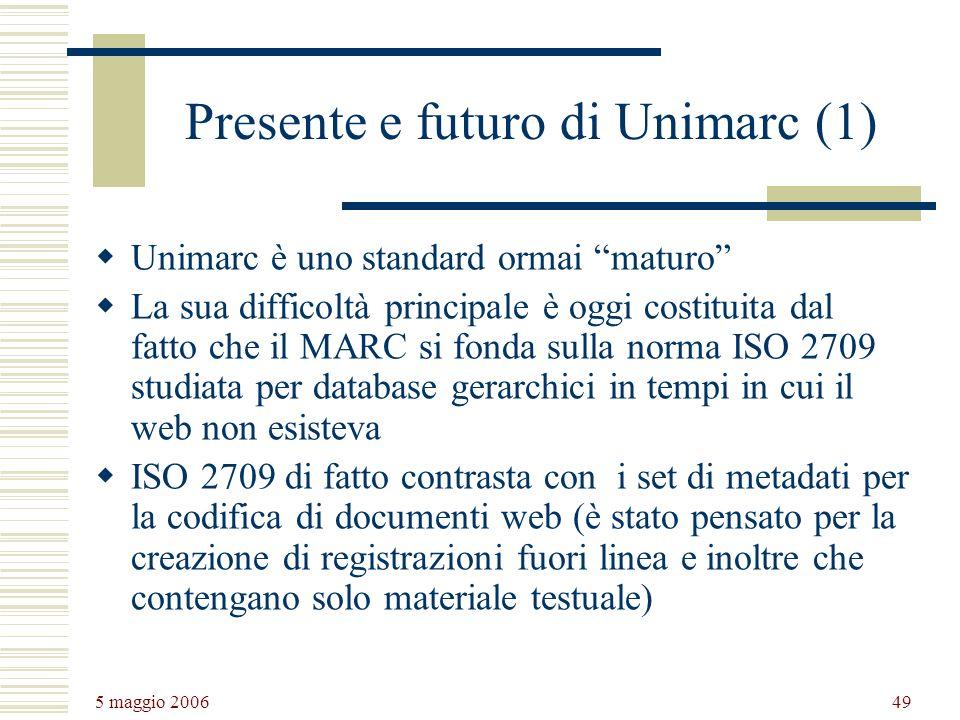 Presente e futuro di Unimarc (1)