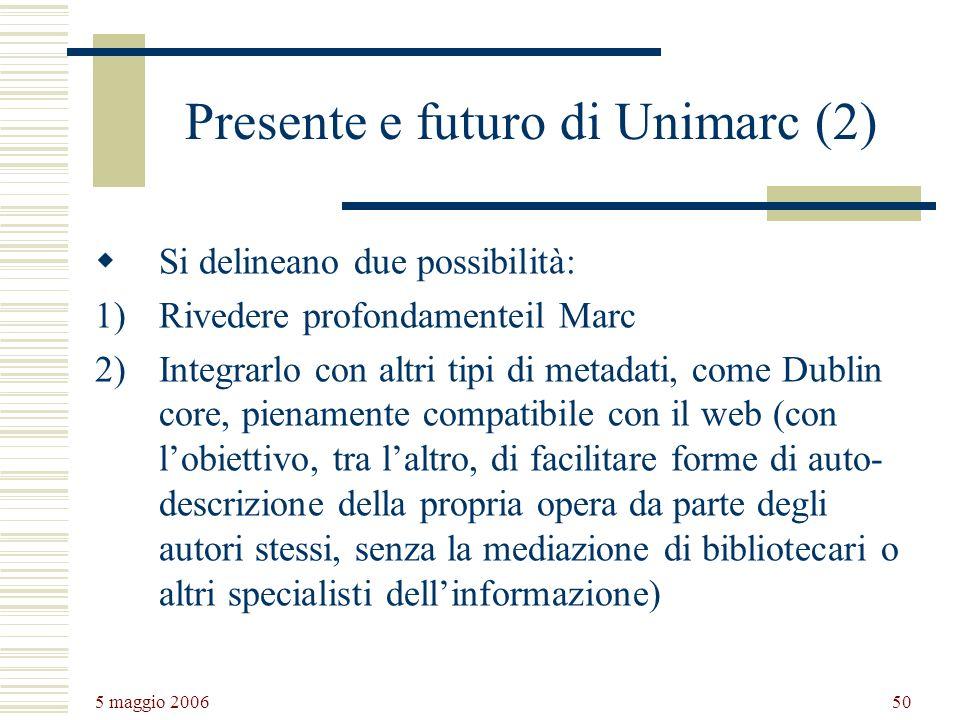 Presente e futuro di Unimarc (2)
