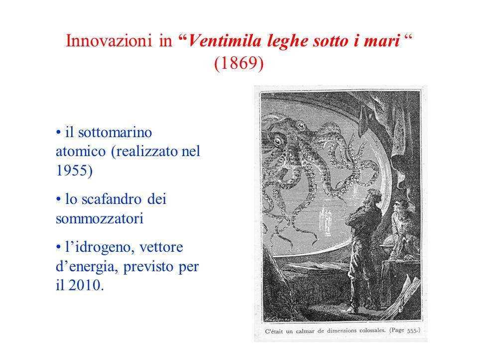 Innovazioni in Ventimila leghe sotto i mari (1869)