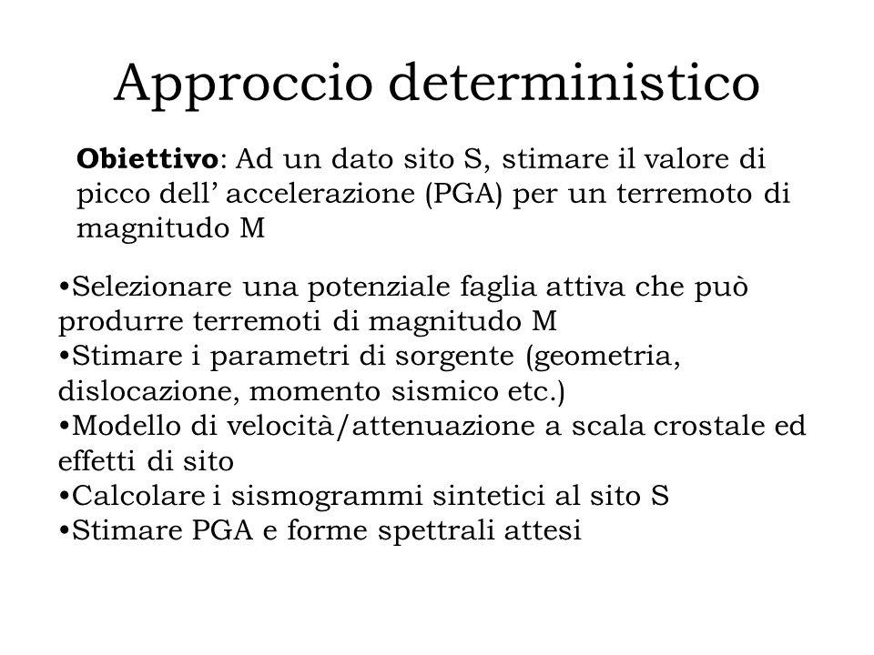 Approccio deterministico