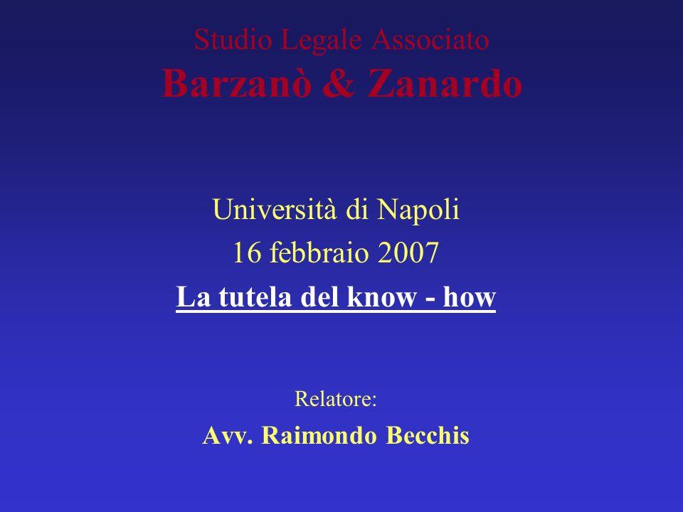 Studio Legale Associato Barzanò & Zanardo