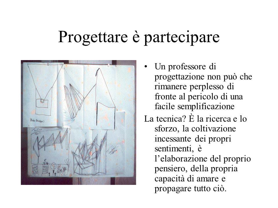 Progettare è partecipare
