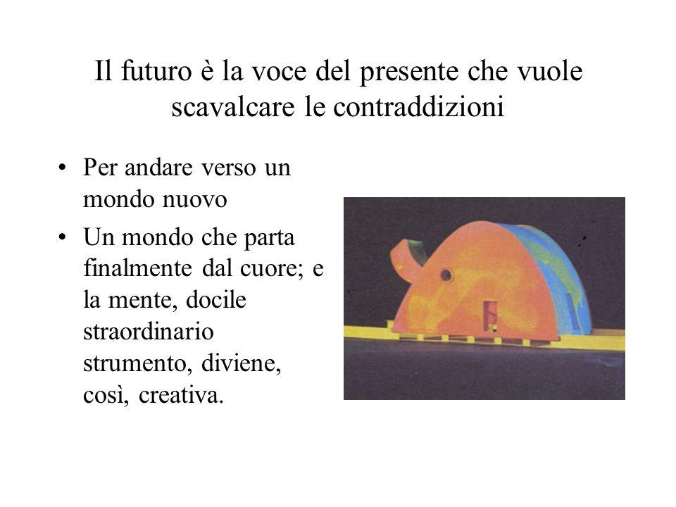 Il futuro è la voce del presente che vuole scavalcare le contraddizioni