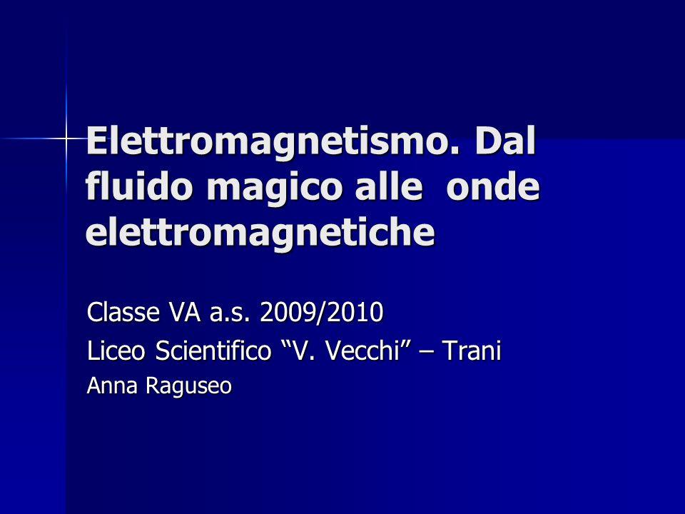 Elettromagnetismo. Dal fluido magico alle onde elettromagnetiche