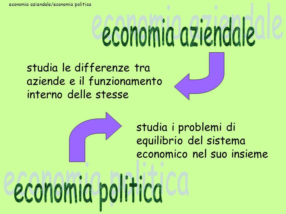 economia aziendale/economia politica