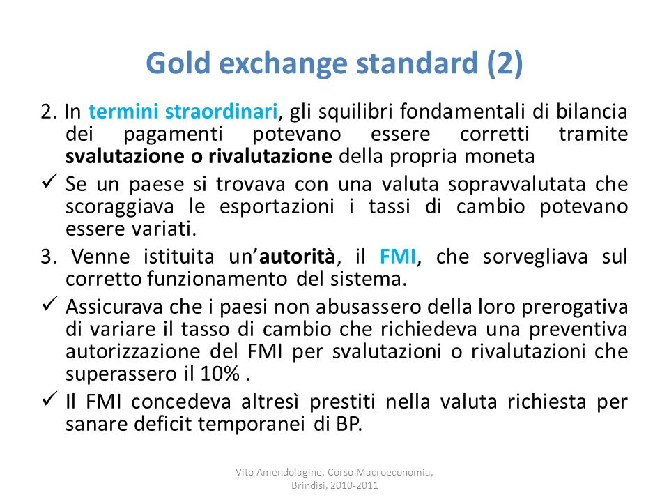 Gold exchange standard (2)
