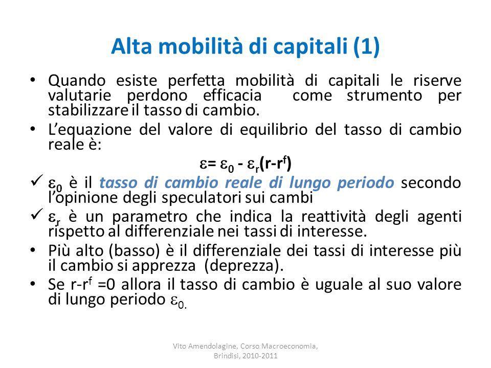 Alta mobilità di capitali (1)
