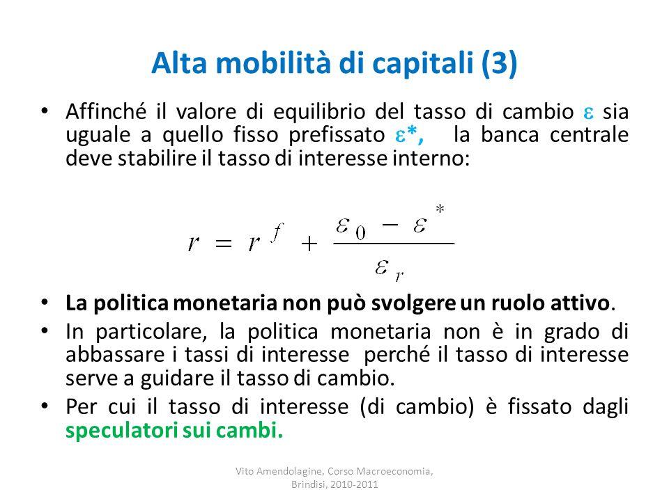 Alta mobilità di capitali (3)