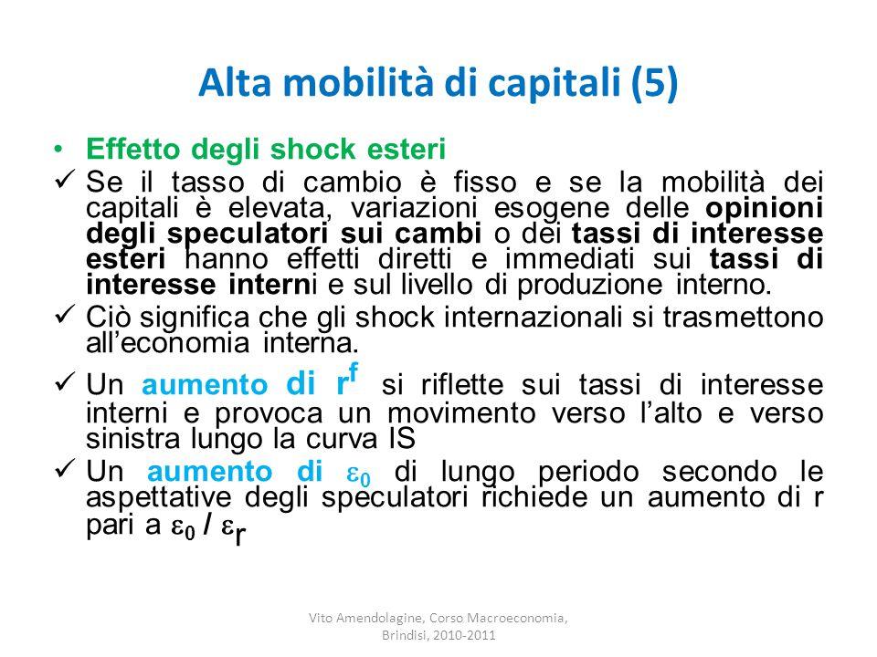 Alta mobilità di capitali (5)