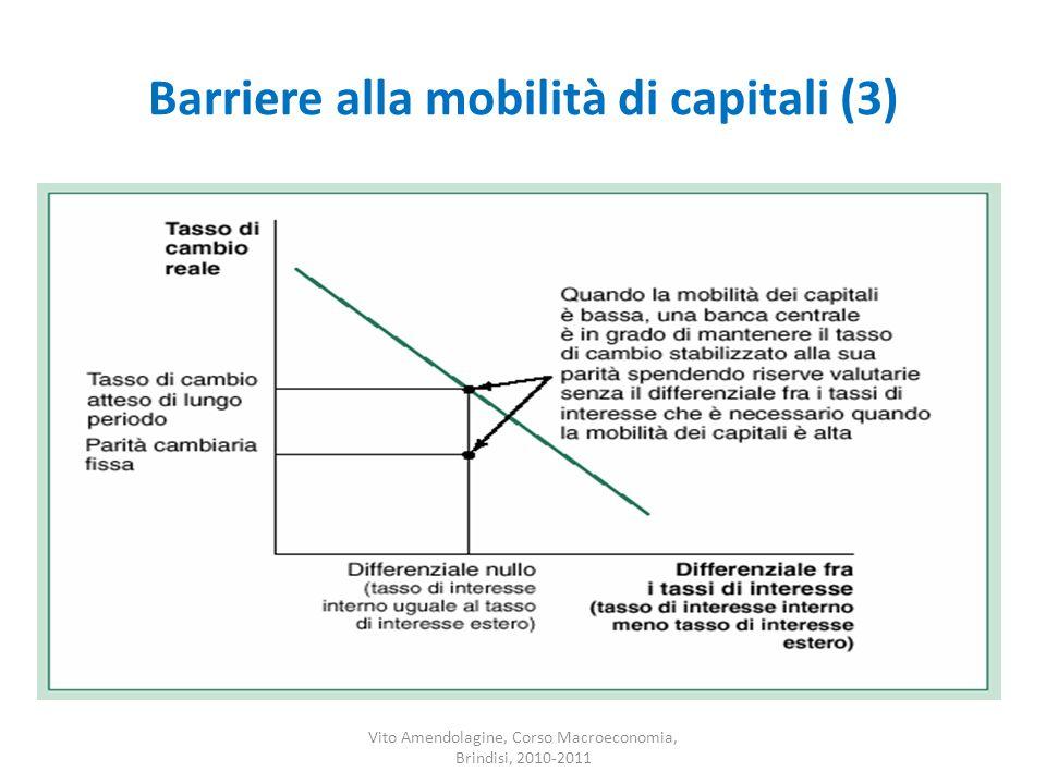 Barriere alla mobilità di capitali (3)