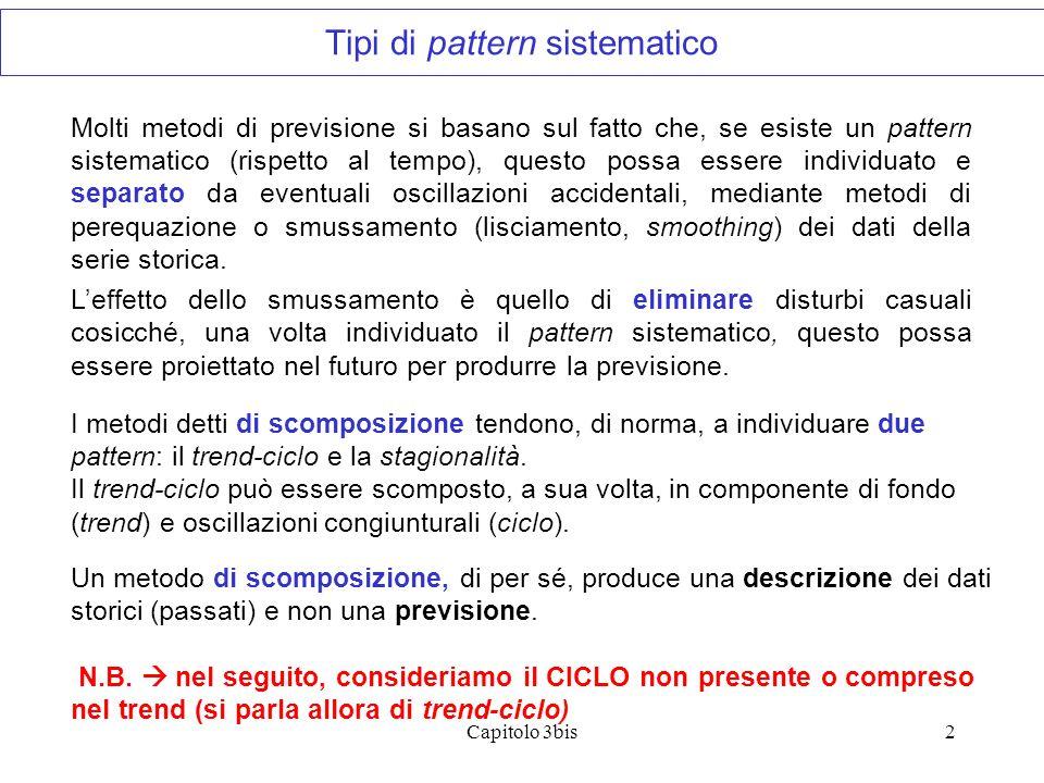 Tipi di pattern sistematico