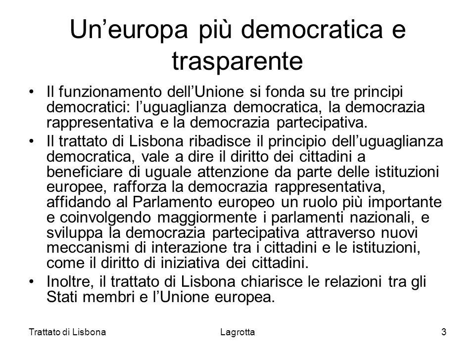 Un'europa più democratica e trasparente