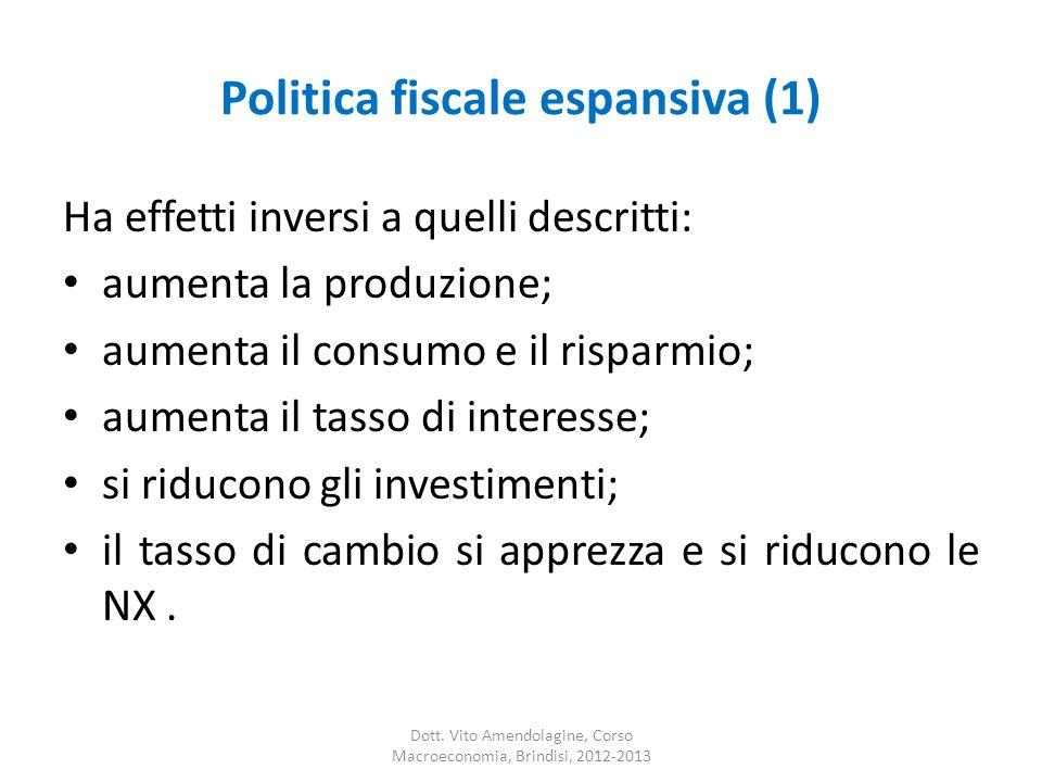 Politica fiscale espansiva (1)