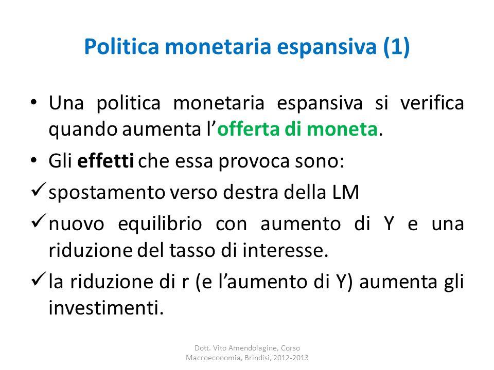 Politica monetaria espansiva (1)