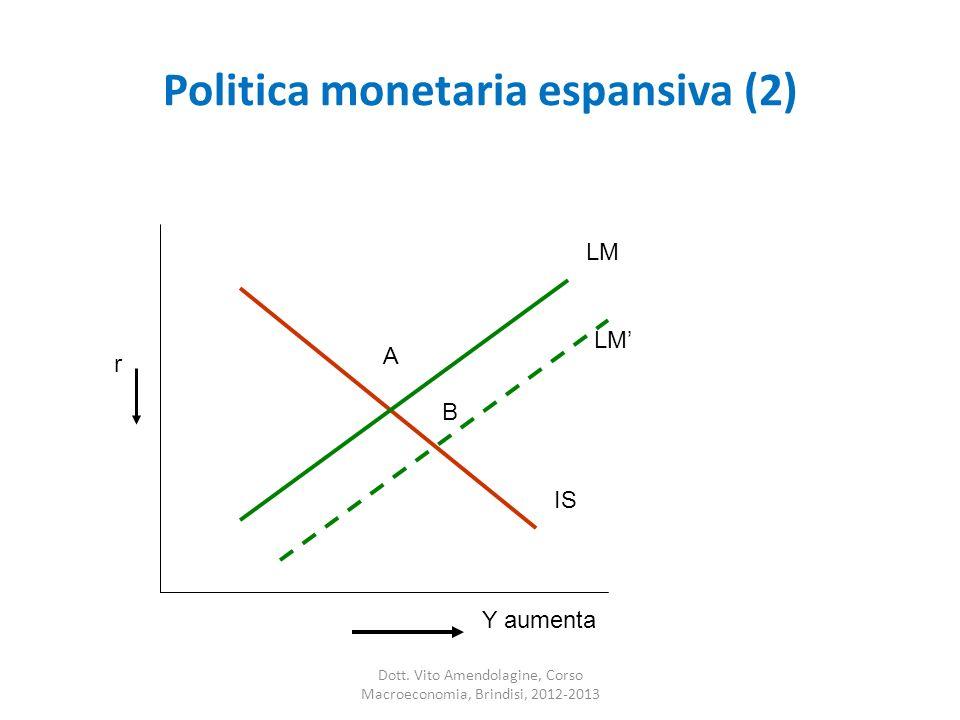 Politica monetaria espansiva (2)