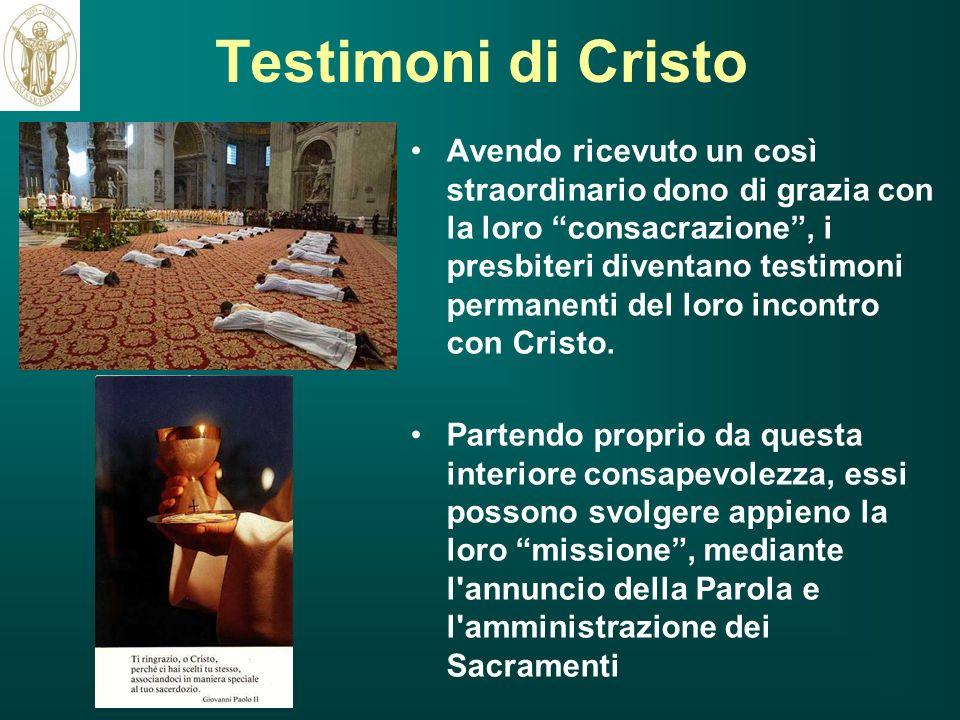 Testimoni di Cristo