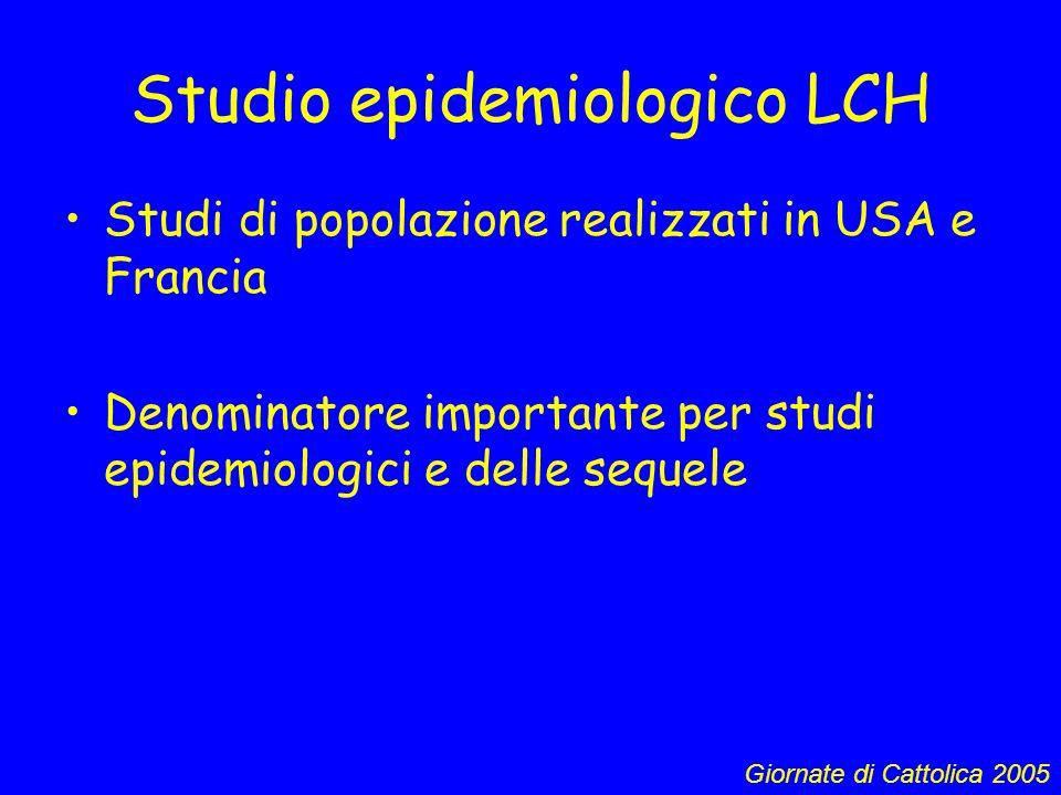 Studio epidemiologico LCH