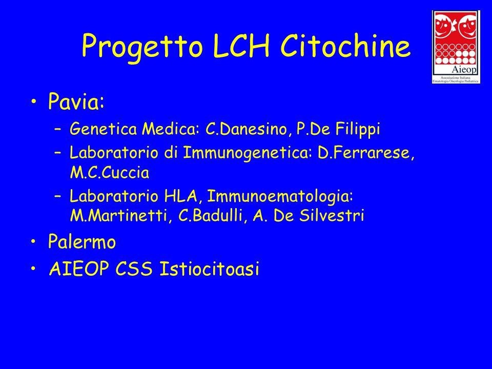 Progetto LCH Citochine