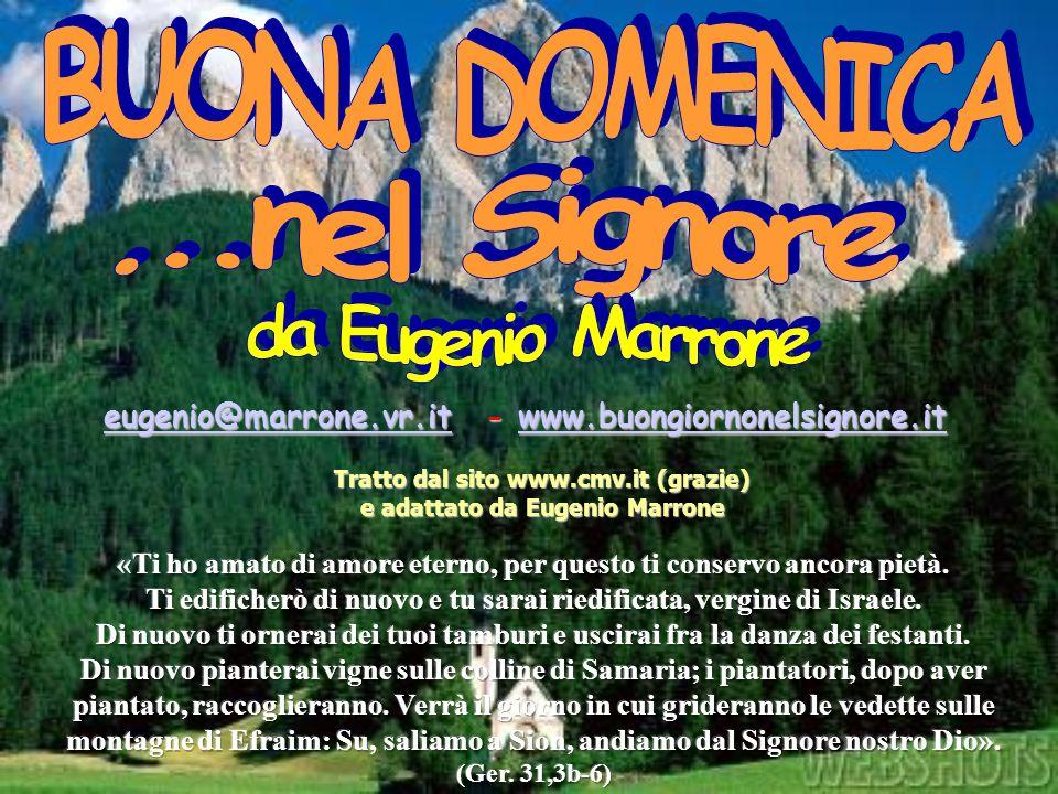 BUONA DOMENICA ...nel Signore da Eugenio Marrone