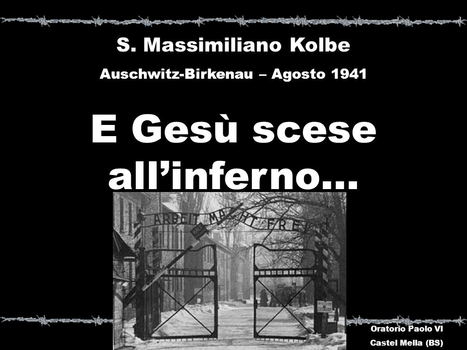 E Gesù scese all'inferno…