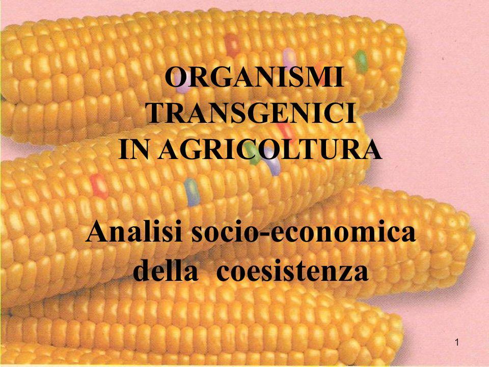 Analisi socio-economica della coesistenza