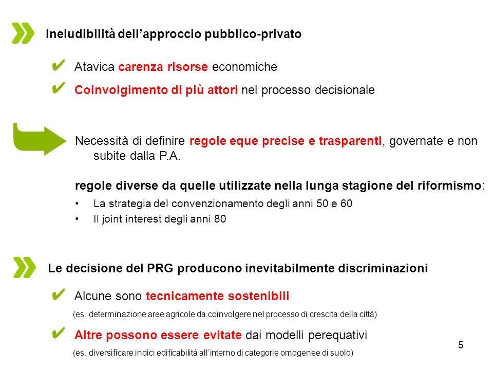 Ineludibilità dell'approccio pubblico-privato
