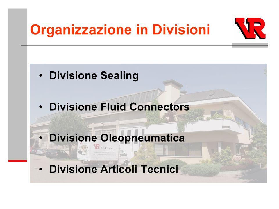 Organizzazione in Divisioni