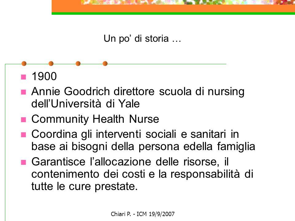 Annie Goodrich direttore scuola di nursing dell'Università di Yale