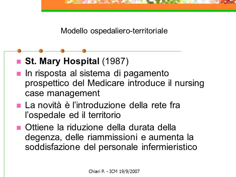 Modello ospedaliero-territoriale