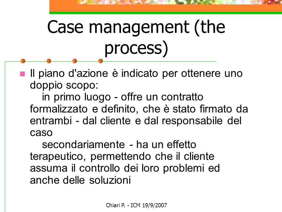 Case management (the process)