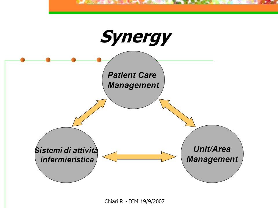 Synergy Patient Care Management Unit/Area Management