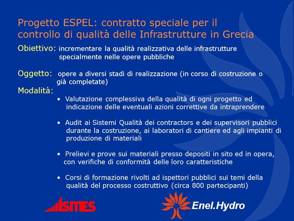 Obiettivo: incrementare la qualità realizzativa delle infrastrutture