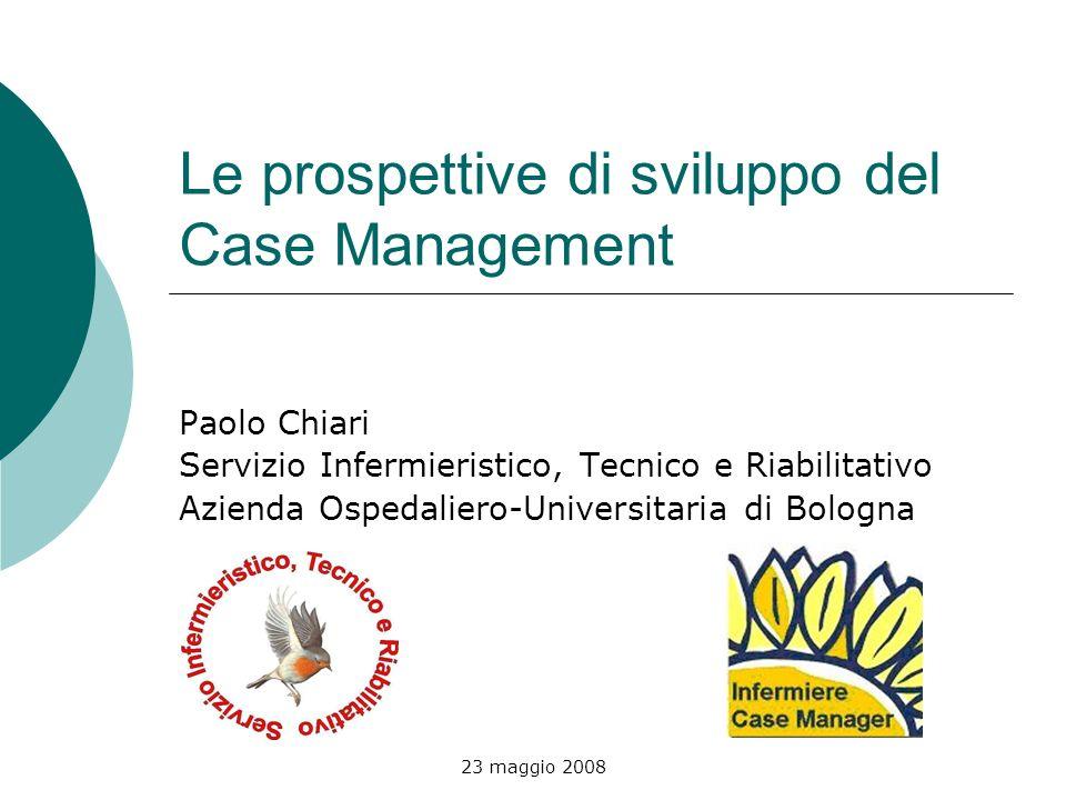 Le prospettive di sviluppo del Case Management
