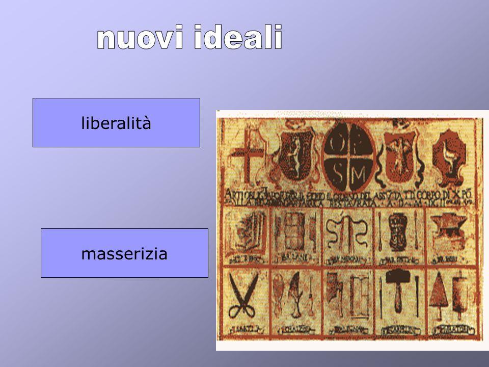 nuovi ideali liberalità masserizia