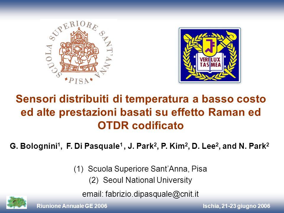 Sensori distribuiti di temperatura a basso costo ed alte prestazioni basati su effetto Raman ed OTDR codificato