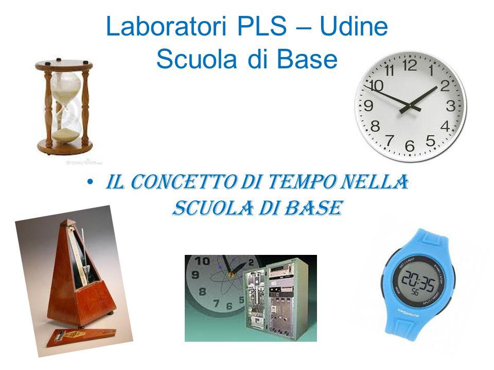 Laboratori PLS – Udine Scuola di Base