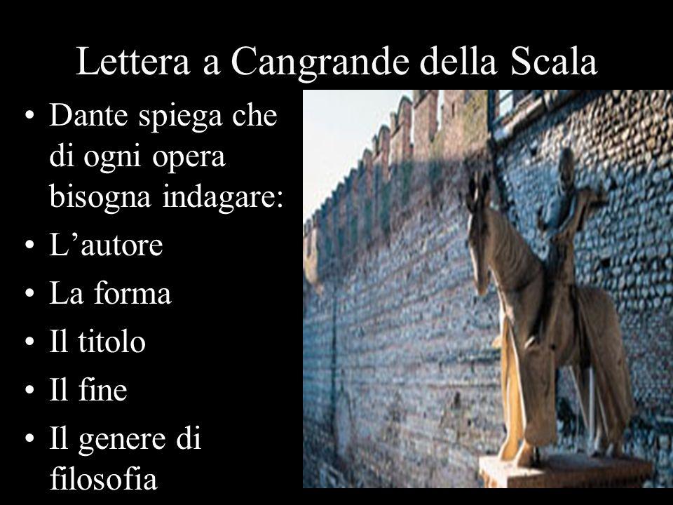 Lettera a Cangrande della Scala