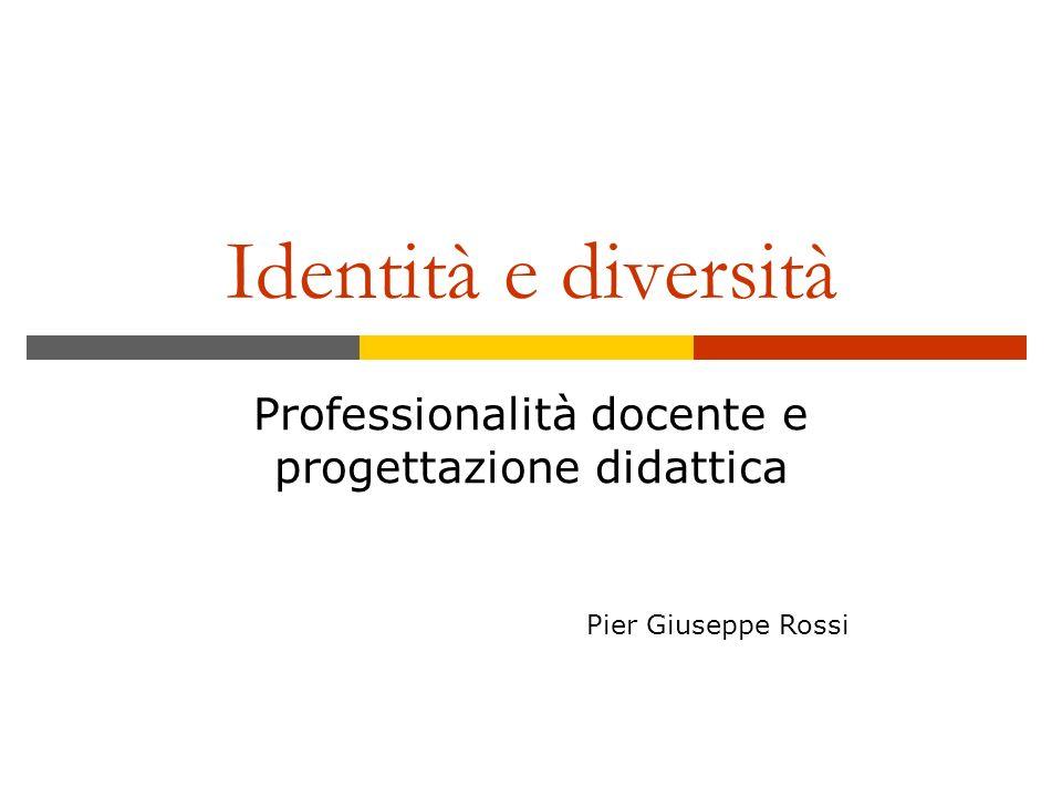 Professionalità docente e progettazione didattica