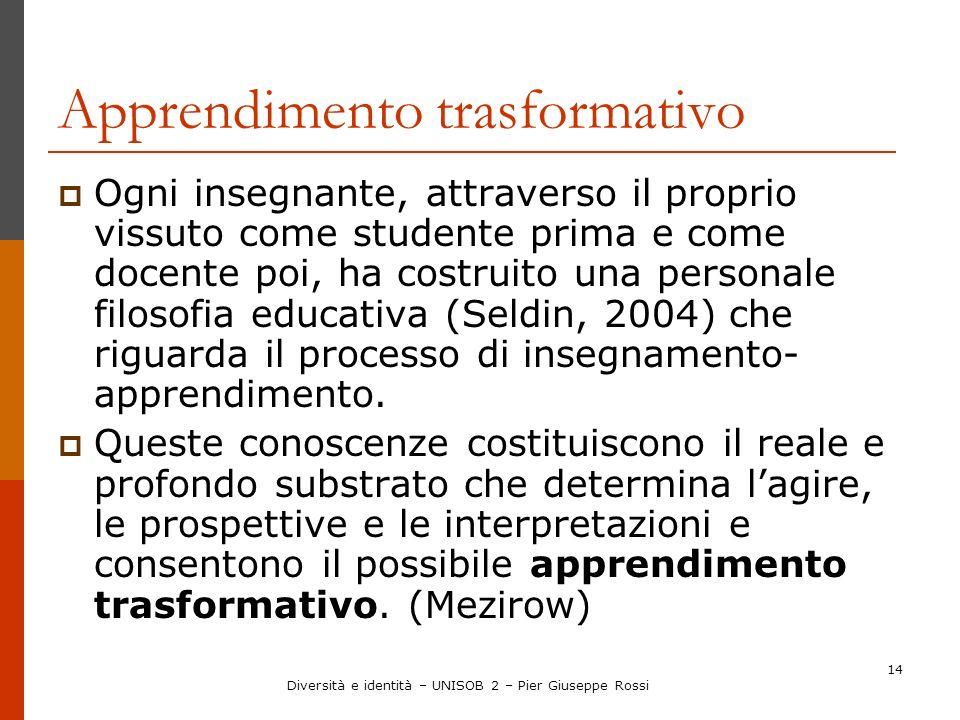 Apprendimento trasformativo
