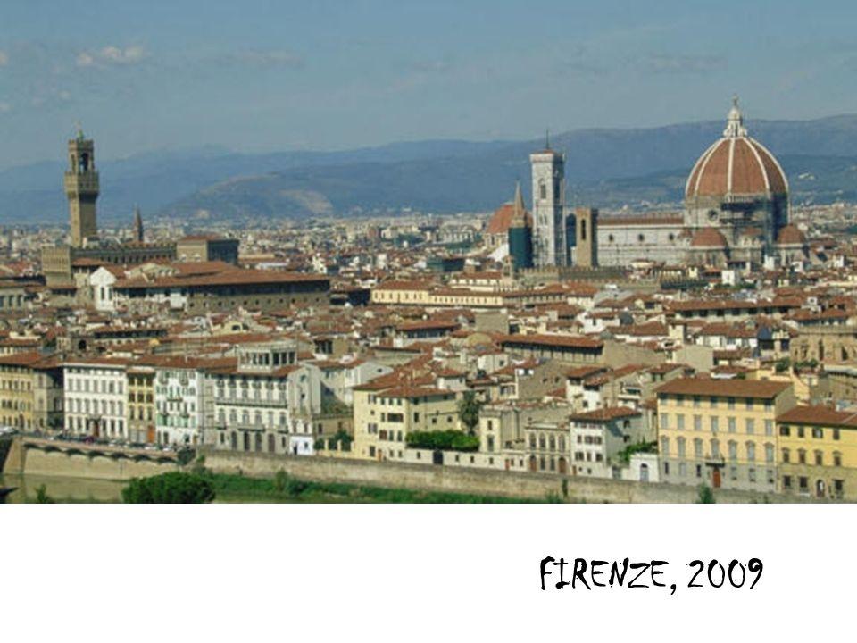 FIRENZE, 2009