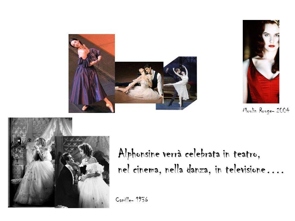 Alphonsine verrà celebrata in teatro,