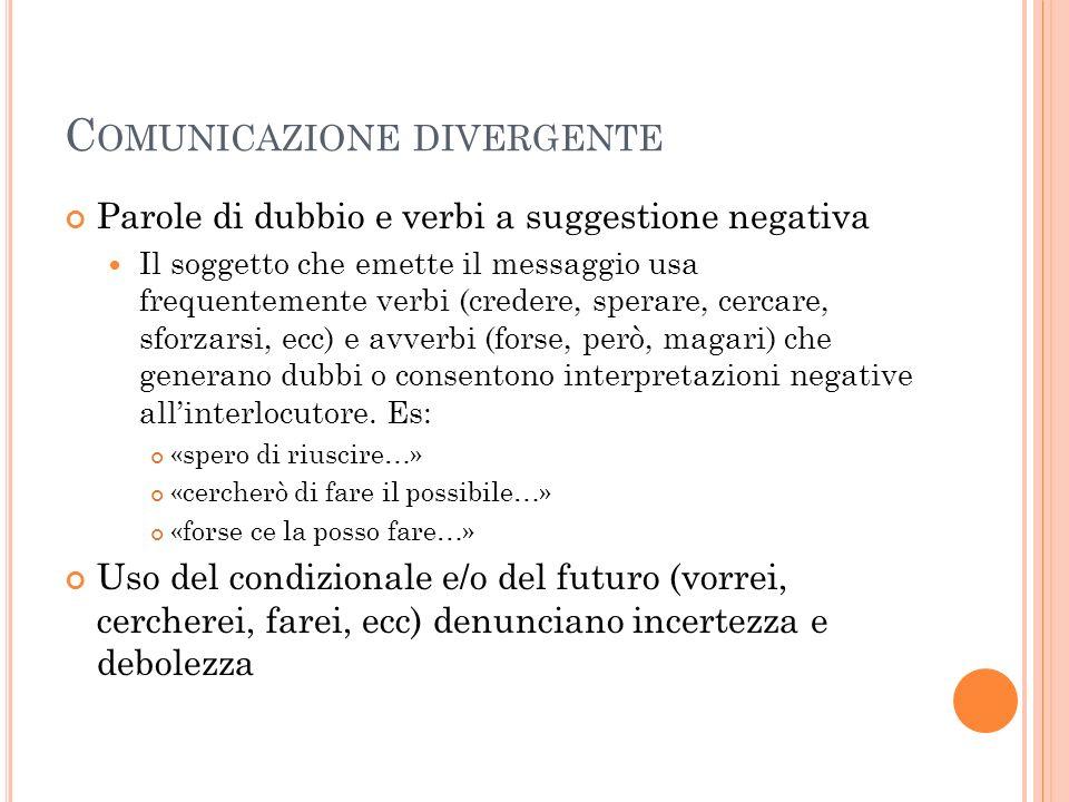 Comunicazione divergente