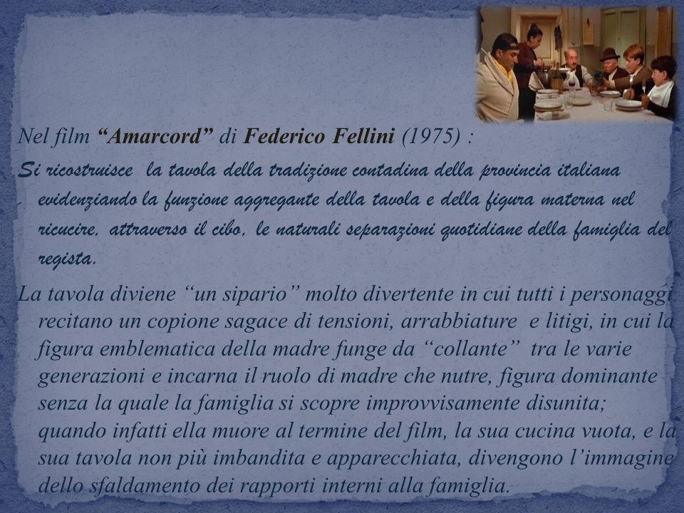 Nel film Amarcord di Federico Fellini (1975) :