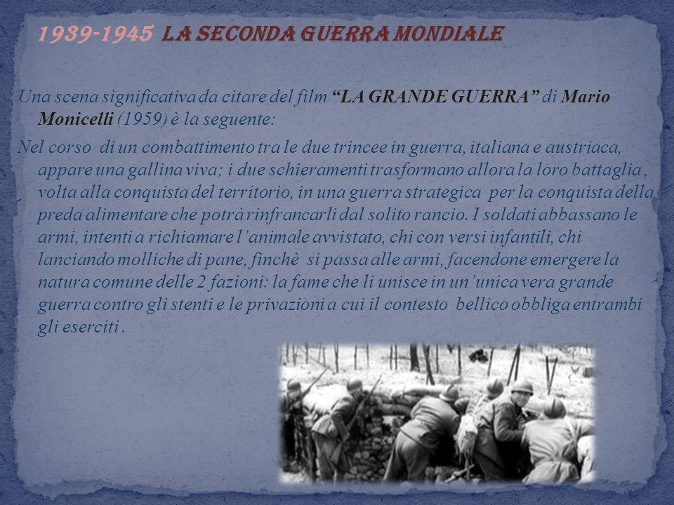 1939-1945 La seconda guerra mondiale
