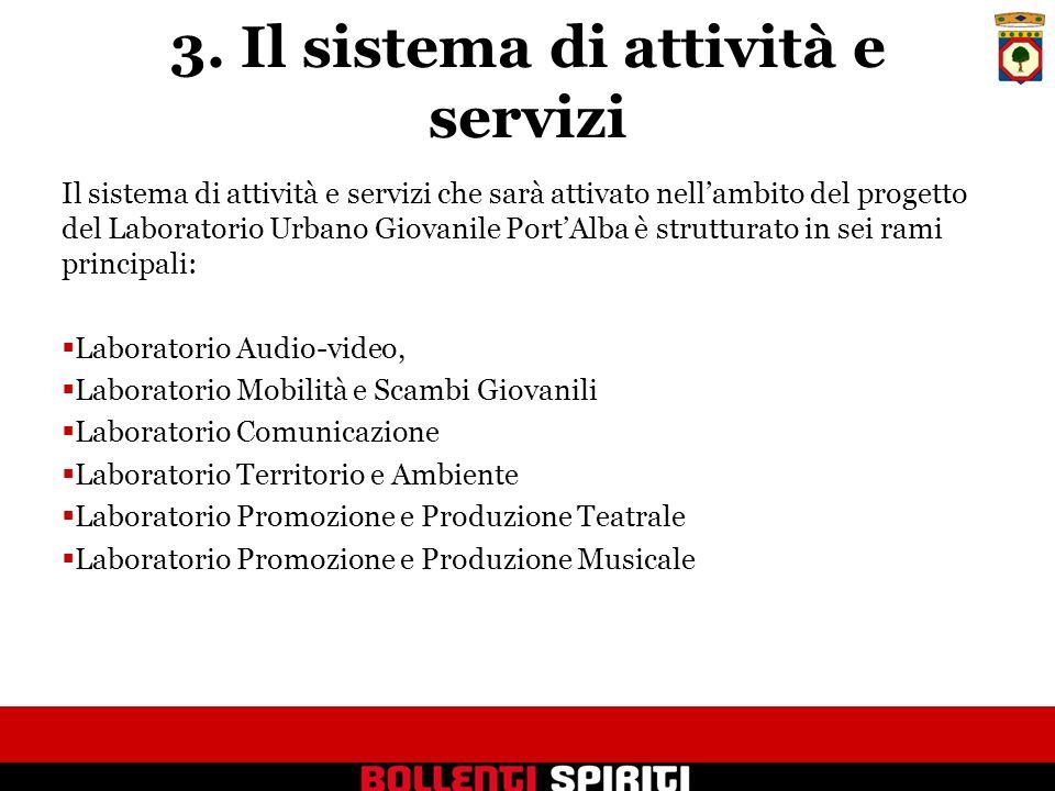3. Il sistema di attività e servizi