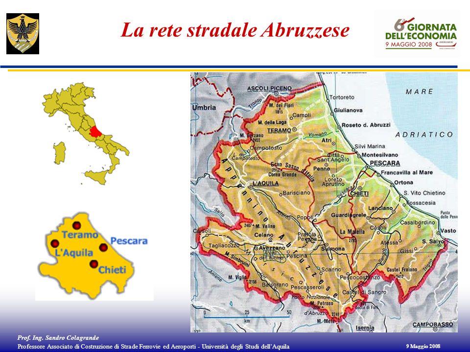 La rete stradale Abruzzese