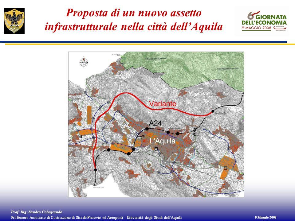 Proposta di un nuovo assetto infrastrutturale nella città dell'Aquila